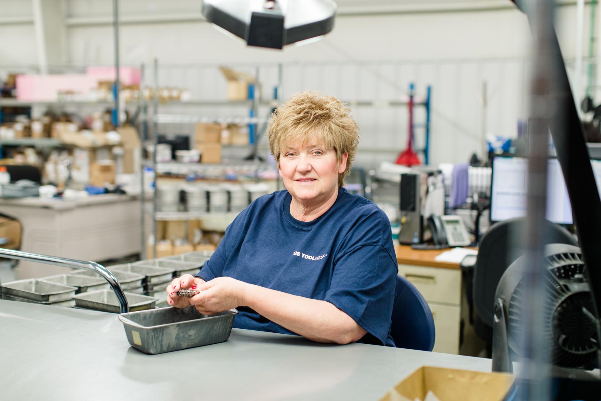 Kathy Jones - Manufacturing Material Handler