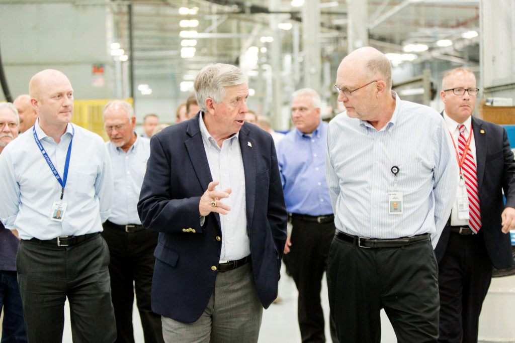 US Tool CEO and MO Gov Parson